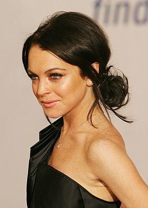 Actress Lindsay Lohan. Photo by Rafael Amado D...