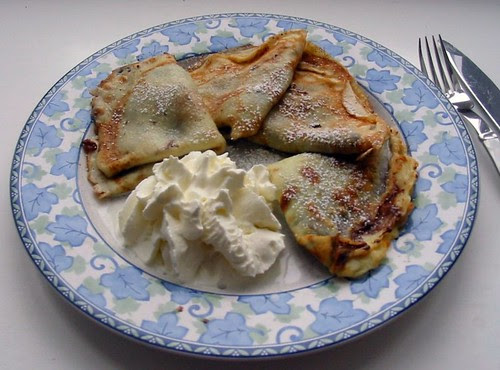 Crêpes for Pancake Day