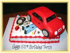Mechanic Cake on Pinterest   Tool Box Cake, Tire Cake and