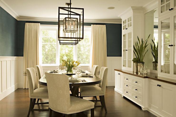 Board and Batten Dining Room - Transitional - dining room ...