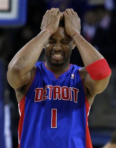 Pistons Warriors Basketball