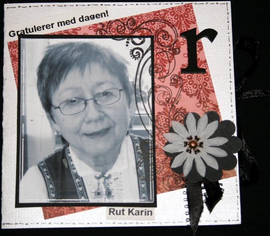 Rut Karin 61 år