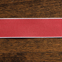 Cherry Cobbler 1 Grosgrain Stitched Edge Ribbon