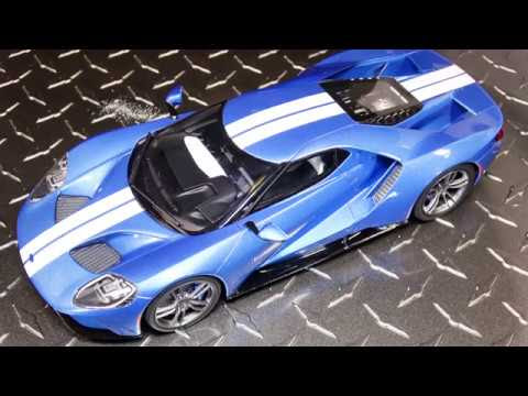 Blue Metallic Gt Spirit Ford Gt  Resin Unboxing And Review