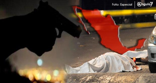 México, el país con la tasa de asesinatos más alta de la OCDE en 2014