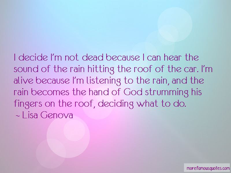 Quotes About Listening To The Rain Top 24 Listening To The Rain