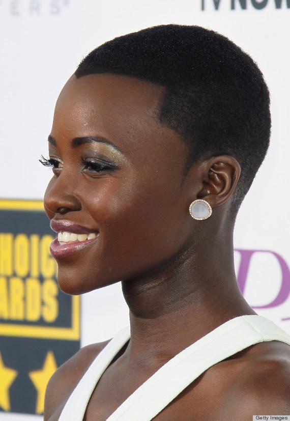 lupita Nyongo haircut