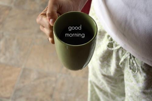 starting my day