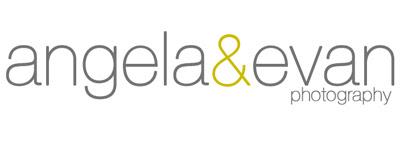 angela & evan photo logo