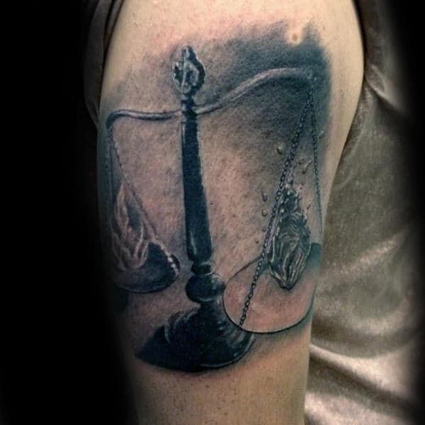 Libra Tattoo 48