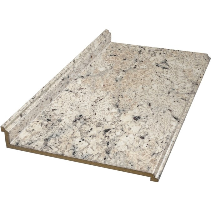 Vt Dimensions Formica 8 Ft Ouro Romano Etchings Straight Laminate Kitchen Countertop In The Kitchen Countertops Department At Lowes Com