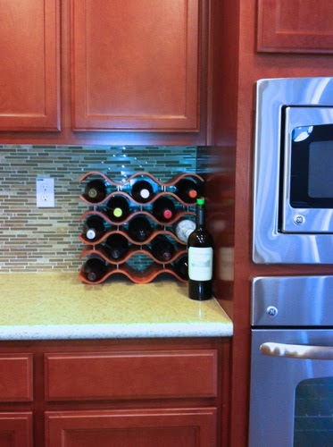 Wine Rack Holds 15 Bottles