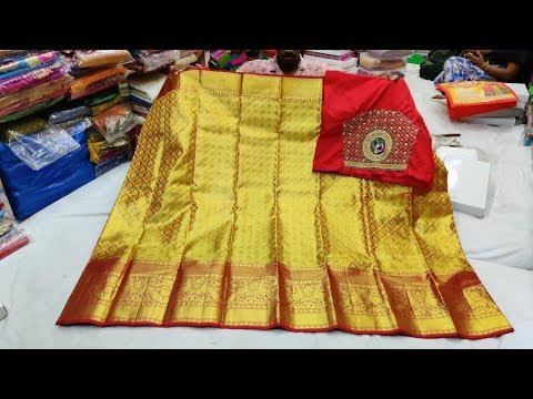 Pattu saree - New collections of 2020