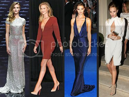 Rosie Huntington-Whiteley Transformers Promotion Style in Europe