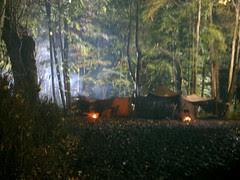 Camelot - village in episode #1 - on location @ Kilruddery