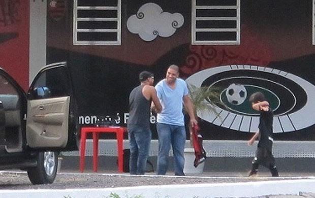 Adriano e Buchecha Flamengo (Foto: Richard Souza / Globoesporte.com)