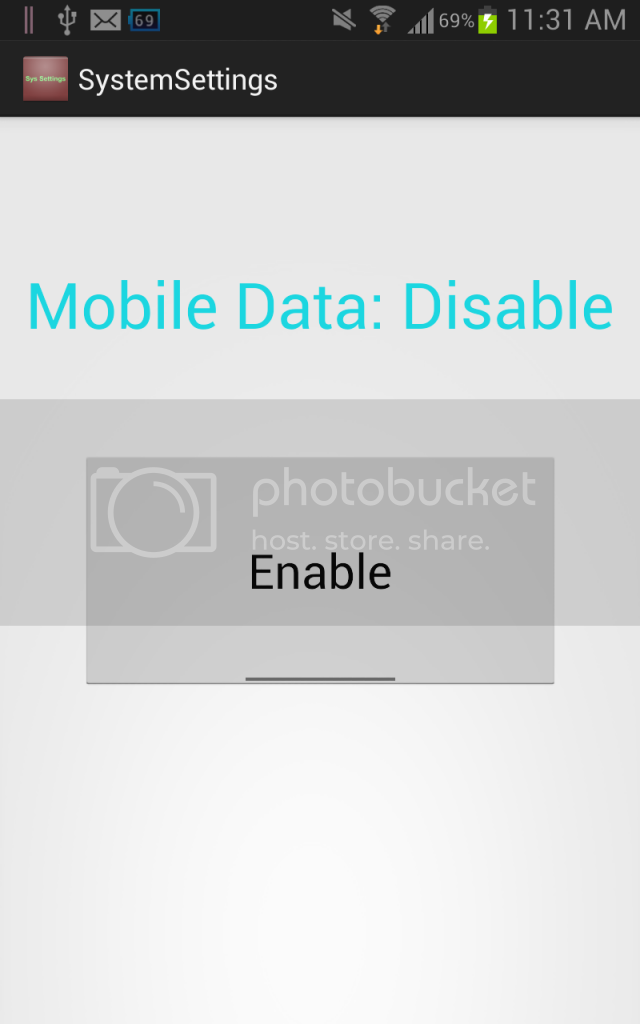 Enable/Disable Mobile Data (GPRS)(Android) ~ Hamad's blog