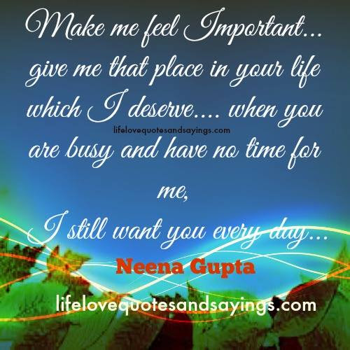 Quotes About Feeling Not Important 40 Quotes