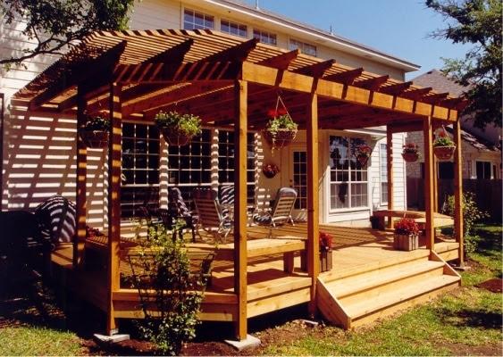 Small Back Yard Deck Ideas