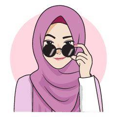 gorgeous hijab girl  stiker   store