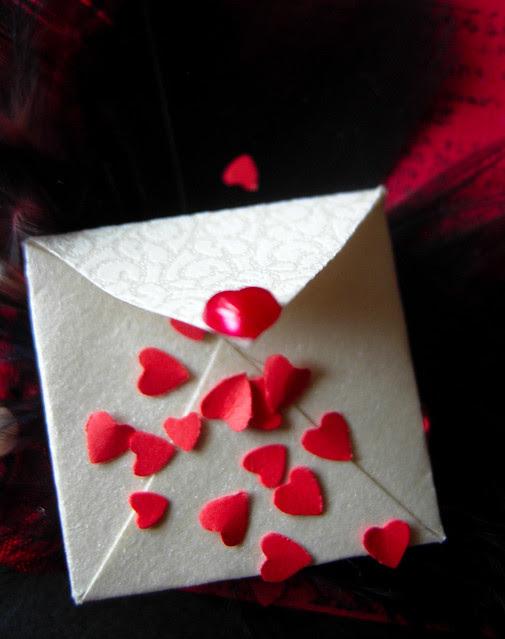 Sending Love - mini envelope