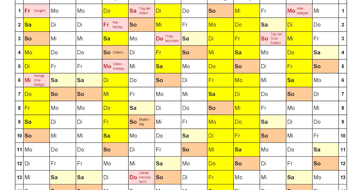 Pfingsten 2021 Kalender
