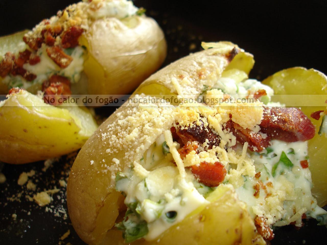 Jacked potato