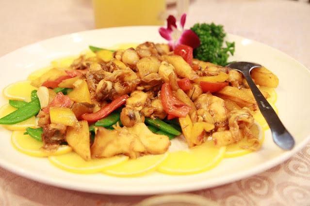 京醬炒雙貝