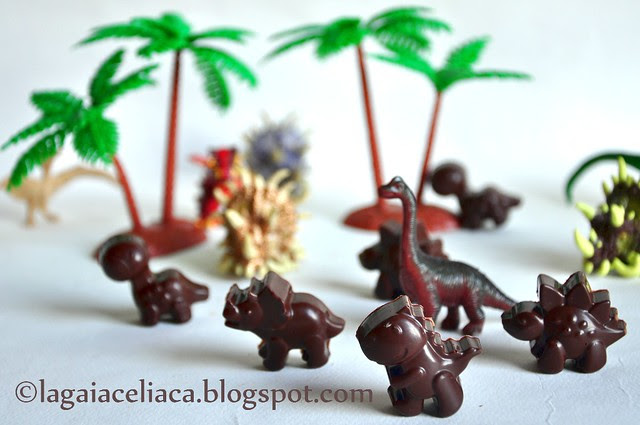 cioccolatini dinosauri
