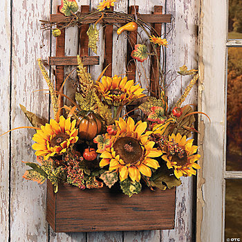 Sunflower Floral Arrangement, Wreaths and Floral Decorations, Home ...