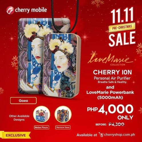 The all NEW Love Marie Collection Cherry Ion is now available