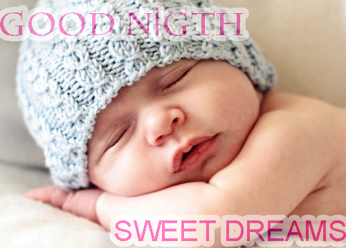 Good Night Wishes And Greetings With A Baby Girl Sleeping Nicewishes