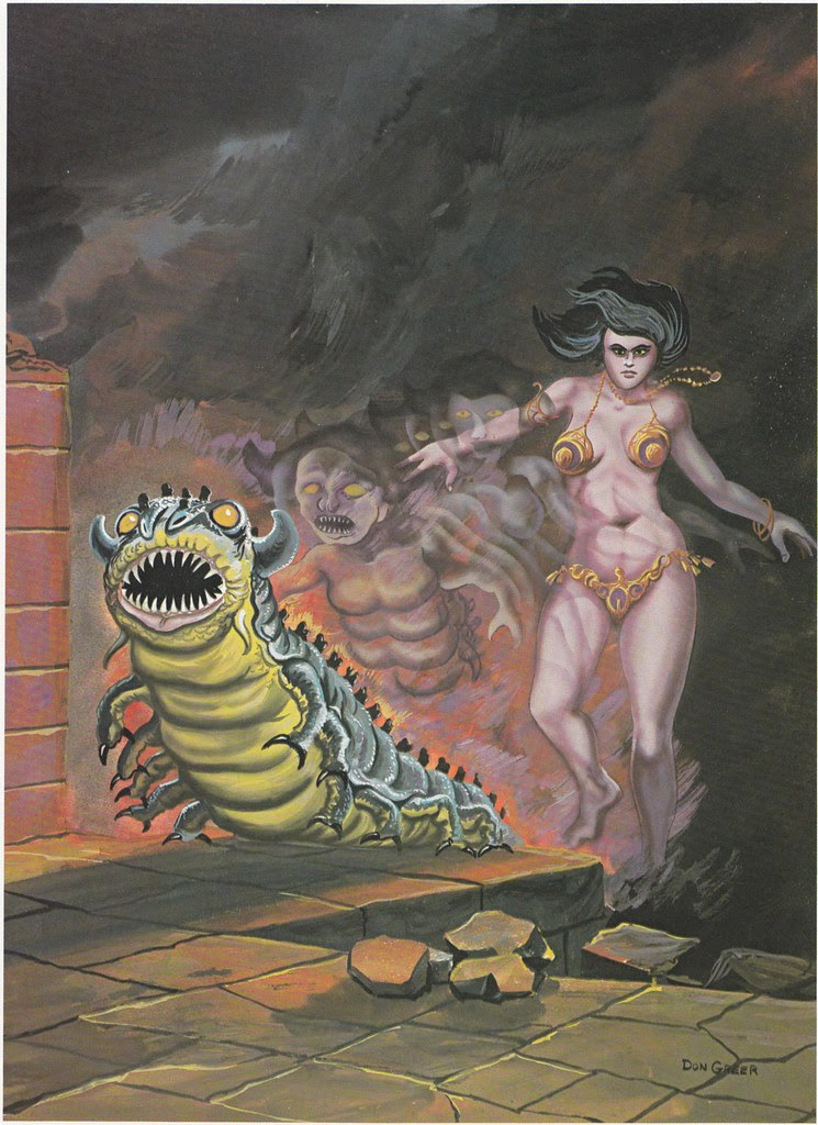 Down In The Dungeon - Don Greer, Rob Stern (Squadron-Signal_1981)-The Changling
