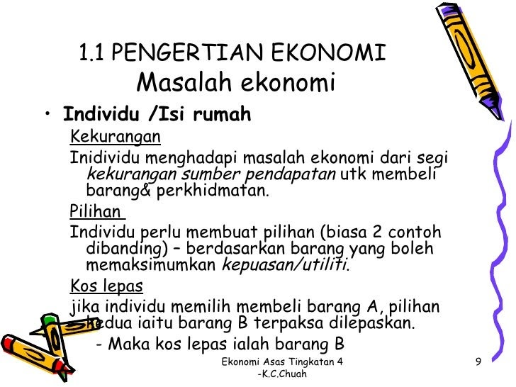 Contoh Soalan Ekonomi Asas Tingkatan 4 Kertas 2 - Catet n