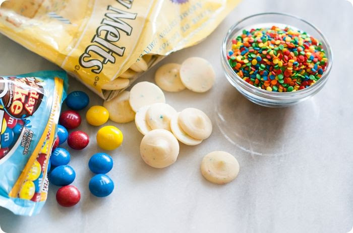 let's make some birthday cake popcorn!