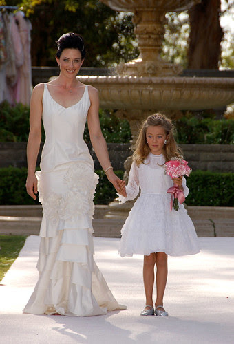 Elizabeth Mason presents, The Paper Bag Princess, Vintage Bridal Fashion Show at Greystone Mansion, Beverly Hills