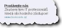 IT tým profesionálů hledá obchodního zástupce
