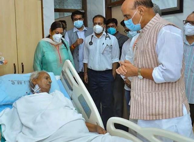 उत्तर प्रदेश के पूर्व CM कल्याण सिंह की हालत गंभीर बनी हुई है: अस्पताल