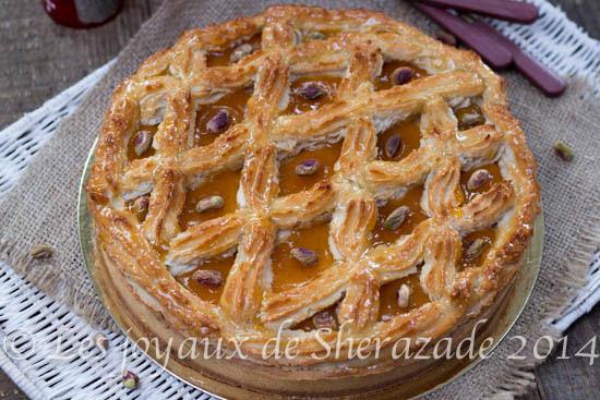 tarte Alcazar aux amandes