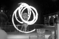 Cebu - Fire dancer