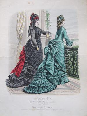 Budapest fashion 1870s