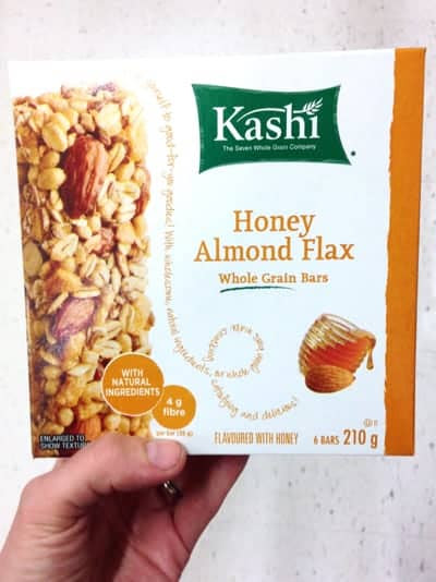 how to find healthy granola/snack bars at the grocery ...