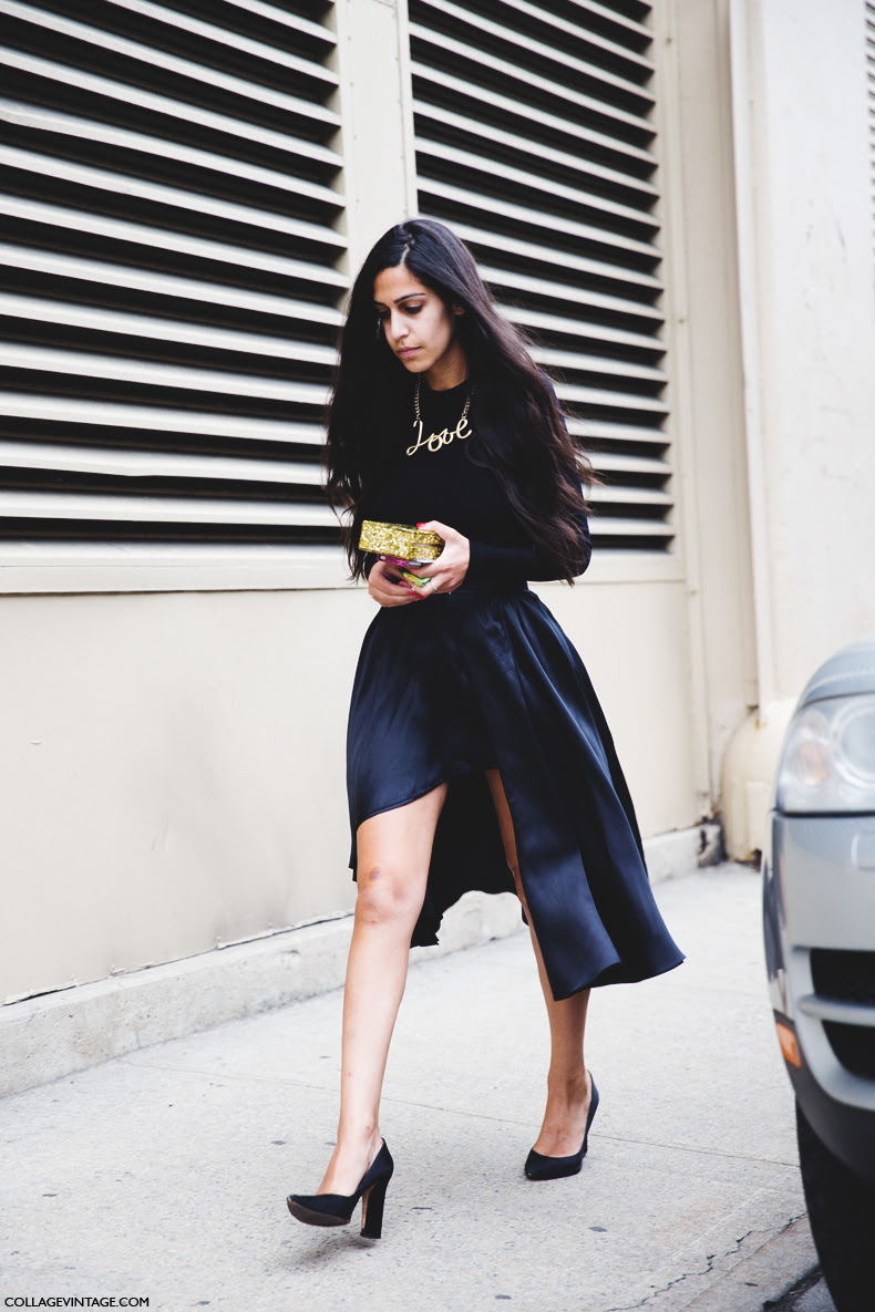 New_York_Fashion_Week_Spring_Summer_15-NYFW-Street_Style-Black_Skirt-Lanvin_Necklace-