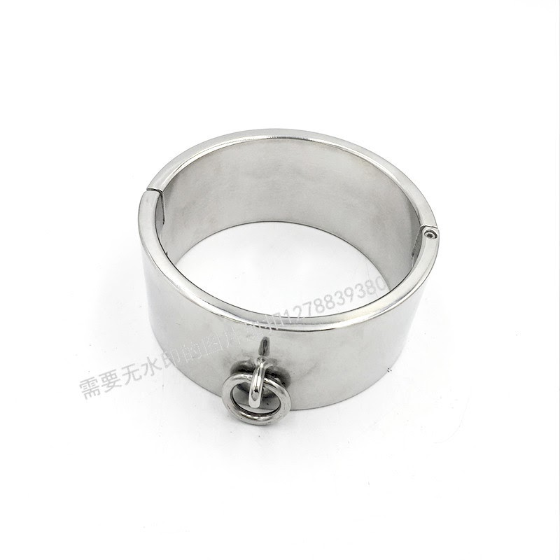 Cheap  6cm High Stainless Steel Collar Collars Exquisite Boutique Bondage Torture Care Sex Toys For Gay Me