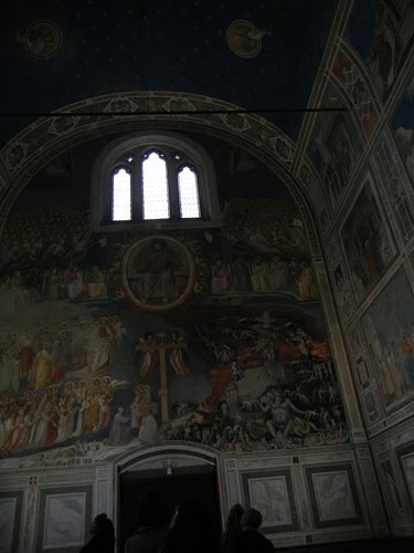 DSCN0702 _ Giotto Frescoes in Scrovegni Chapel, Padova, 12 October