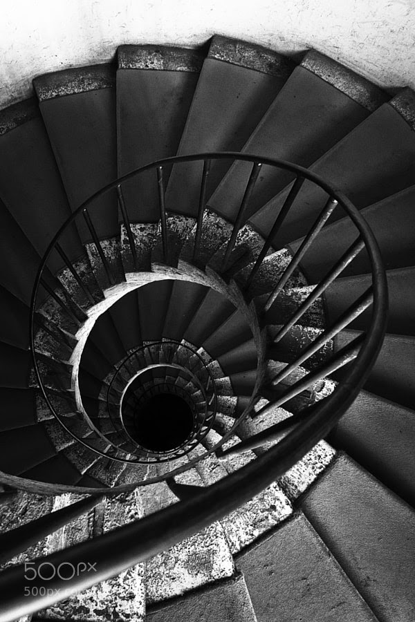 Stairs by Luca Tozzi (tiamotiodio) on 500px.com