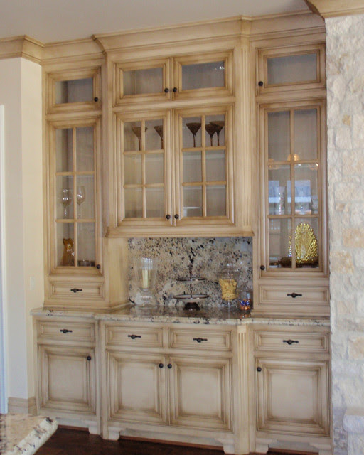 Glazed Kitchen - Traditional - Kitchen - san francisco ...