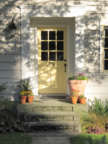 Traditional Entry by Tim Andersen Architect
