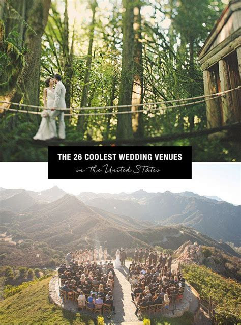 Top 26 Coolest Places to get Married in the US   Wedding