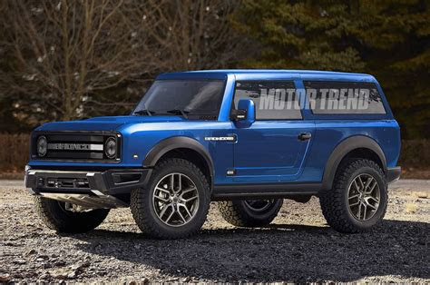 ford bronco  reportedly   removable top